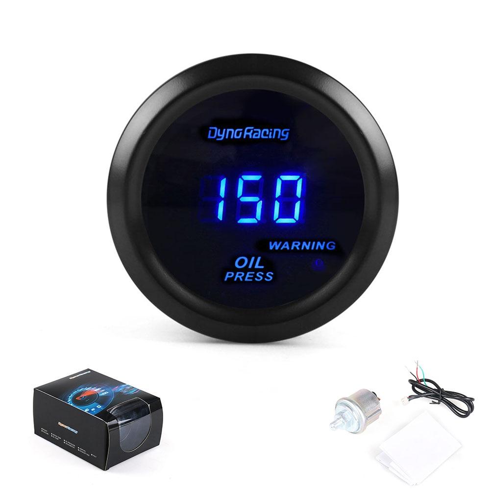 2  /52mm Digital Wideband Oil pressure gauge/auto meter/car meter/auto parts