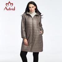 2018 النساء استريد معطف سترة الربيع والخريف الدافئة جودة عالية جمع AM-2303 أوكرانيا معطف امرأة سترة الشتاء جديدة