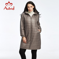 2018 Astrid Women Coat Jacket Spring And Autumn Warm High Quality Ukraine Woman Jacket Winter Coat