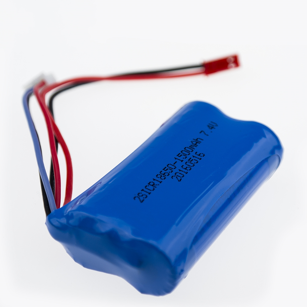 1 pcs 7.4V 1500mAh ICR-18650mah Battery MJX F 45 Helicopter Spare Parts DH 9053 9101 f45 9118 rc Helicopter parts