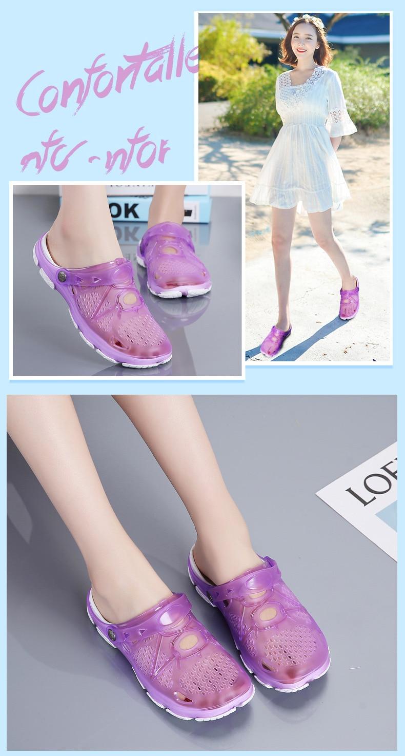 HTB1QUsSQCzqK1RjSZPcq6zTepXav Women Sandals Summer Slippers 2019 New Women Outdoor Beach Casual Shoes Cheap Female Sandals Water Shoes Sandalia women
