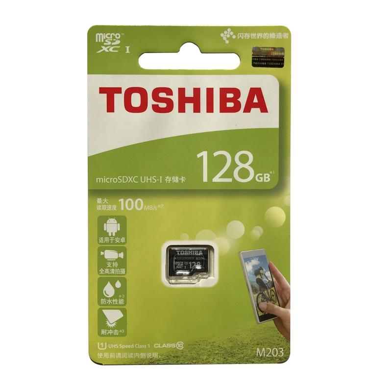 Toshiba Memory Card Micro SD Card 128GB 64GB 32GB 16GB Class10 UHS-1 U1 SDXC/SDHC Flash Memory Microsd 100M/s With Package