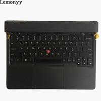 FOR Lenovo ThinkPad X1 Helix US Keyboard + Palmrest + Bottom + Fan Heatsink + Motherboard + Cable Lower Case Cover Part