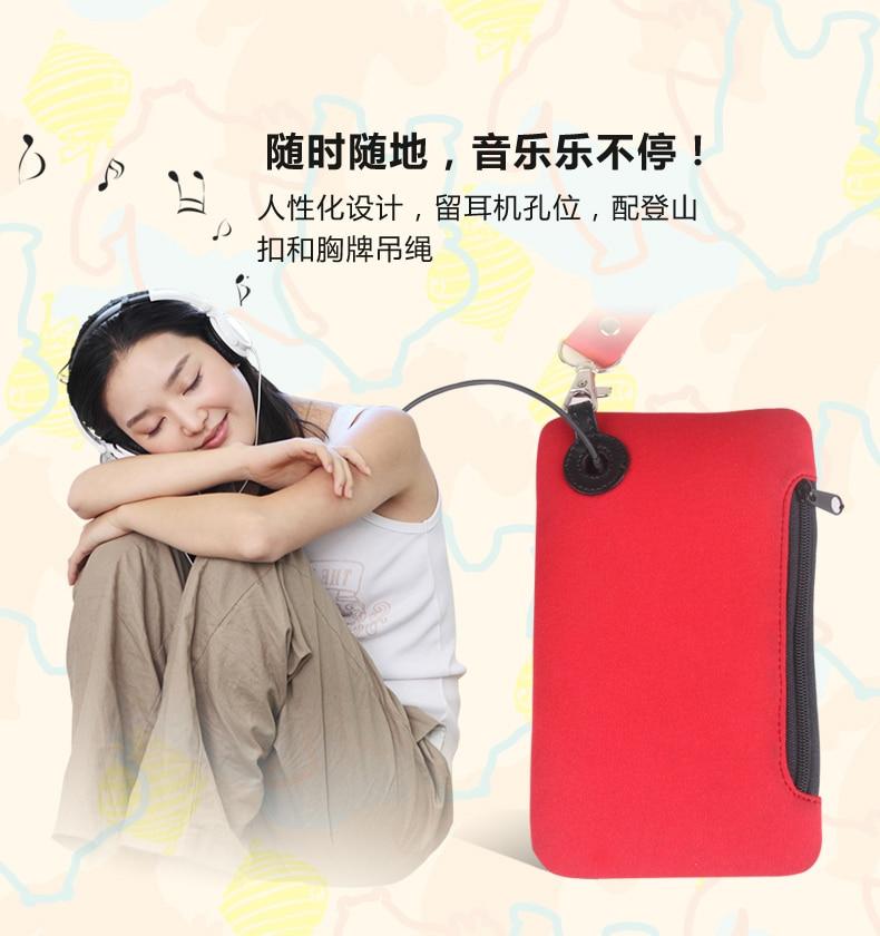 L neopren söt passet plånbok passet fodral hållare väska resa - Resetillbehör - Foto 5