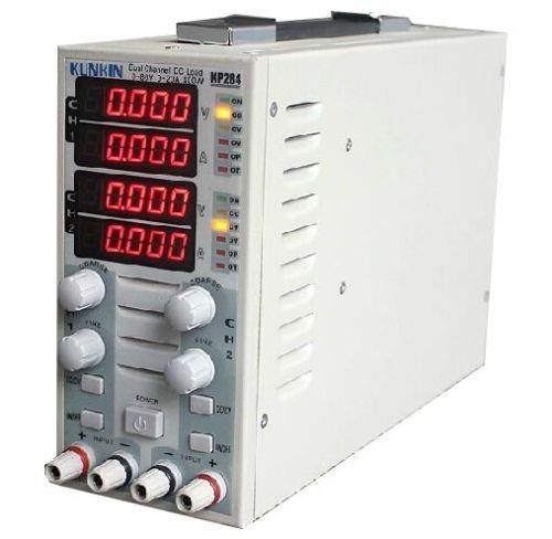 KP284 Battery capacity tester Load meter LED drive power With a load tester Programmable electronic load tester battery capacity tester battery capacity tester electronic load can be connected to the computer tec 12p