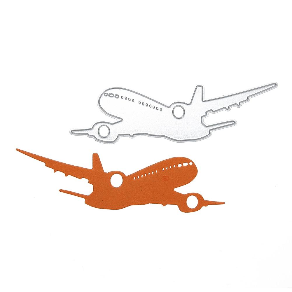 Airplane Diy Stencil Metal Cutting Dies For Diy Scrapbooking Photo