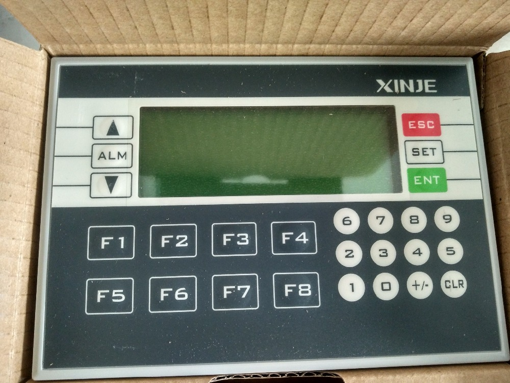 XP3-18RT XINJE Integrador de PLC y HMI OP330 operan panel XC3 10DI / 8DO nuevo en caja