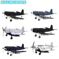 1 sztuk montaż Model samolotu zestaw dla dzieci zabawki dla chłopców wojskowy F4U obsługi Corsair Fighter 4D modelu DIY klocki zabawki edukacyjne prezenty