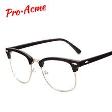 Pro Acme Fashion Glasses Frame with Clear Lenses Man Johnny Depp Nerd Optical Women Computer Eye Glasses Frames for Men CC0554