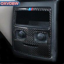 Для bmw e90 интерьер углеродного волокна сзади Кондиционер Vent крышка отделка воздуха на выходе Декор стайлинга автомобилей наклейки 3 серии аксессуары