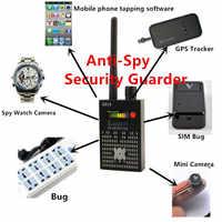 Best 1MHz-8000MHz Wireless Signal Detector Radio Wave WiFi Bug Detector Camera Full-Range RF Detector G318