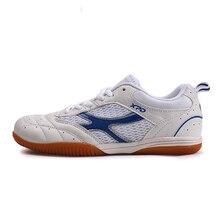 Мужчины/женщины красный, воздухопроницаемой сеткой теннис настольный синий белый обувь