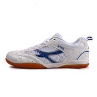 Free Shipping Breathable Mesh Male Female Table Tennis Shoes Tennis Shoes US5 10 White Red White