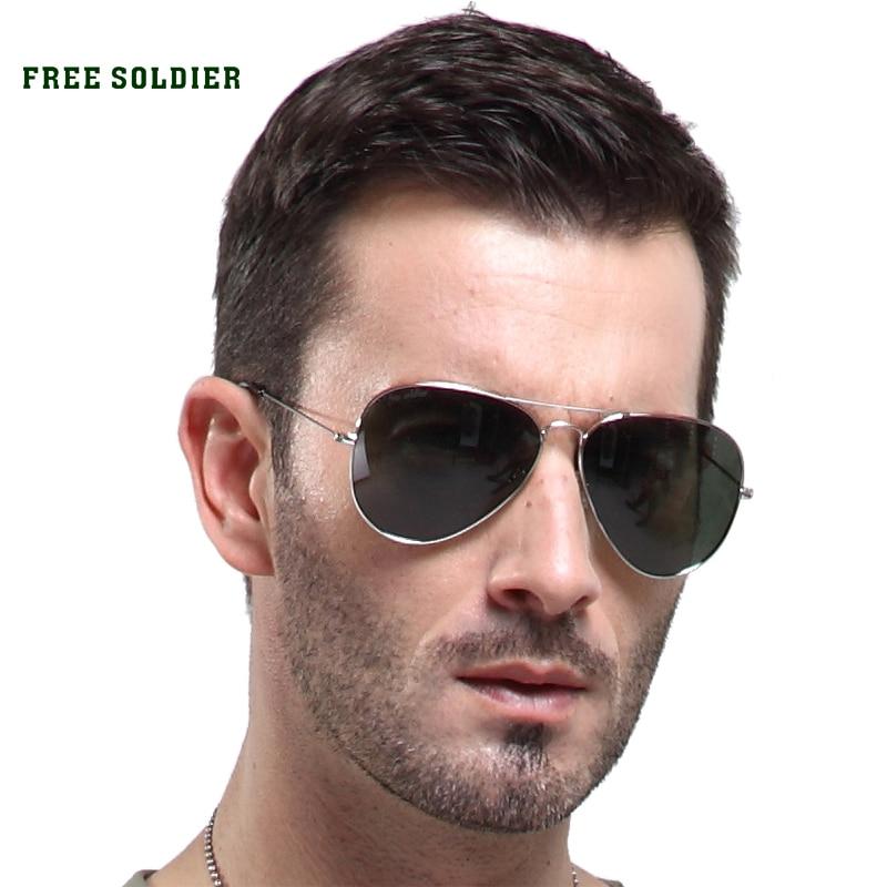Prix pour FREE SOLDIER extérieure randonnée camping verre Hommes femmes polarisées lunettes sunglassess pilote lunettes pilote lunettes