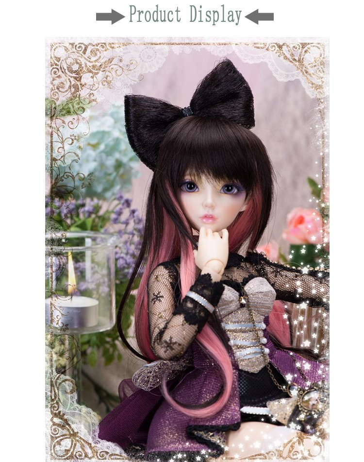 Stenzhorn Fairyland minifee Celine 1/4 bjd sd dolls model reborn girls boys eyes High Quality toys makeup shop resin