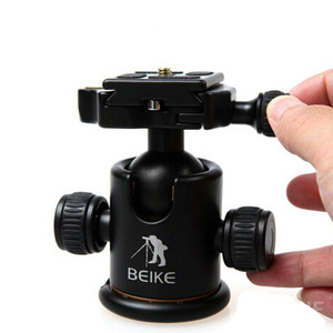 Image 5 - BEIKE Aluminum BK 03 Camera Tripod Ball Head with Quick Release Plate Pro Camera Tripod Max load to 8kg