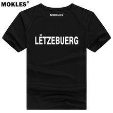 LUXEMBURG t shirt diy free custom made name number lux t shirt nation flag lu luxembourgish