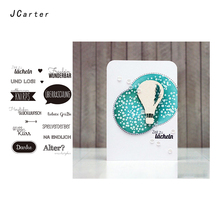 JC German Phrase Clear Rubber Stamps Scrapbooking Danke Sheet Silicone Seals Craft Stencil Album Paper Card Making Decoration