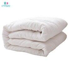 Хлопковое детское пуховое одеяло, мягкое теплое дышащее утолщенное одеяло, шерстяное пуховое одеяло, Комплект постельного белья на осень и зиму