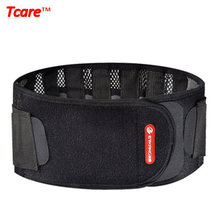 Tcare Health Care Posture Corrector Waist Trainer Elastic Waist Support Brace Waist Care Belt Braces With Warm Patches