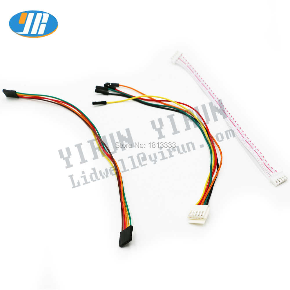 5Pin Joystick Cable 4 Kind Of Wiring Arcade Wire harness 5 Pin Joystick For Sanwa /SEIMITSU Joystick Connection To USB Encoder