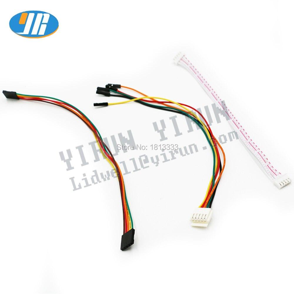 5-контактный кабель джойстика, 4 вида проводки, аркадная проводка, 5-контактный джойстик для Sanwa/джойстик, подключение SEIMITSU к USB-энкодеру