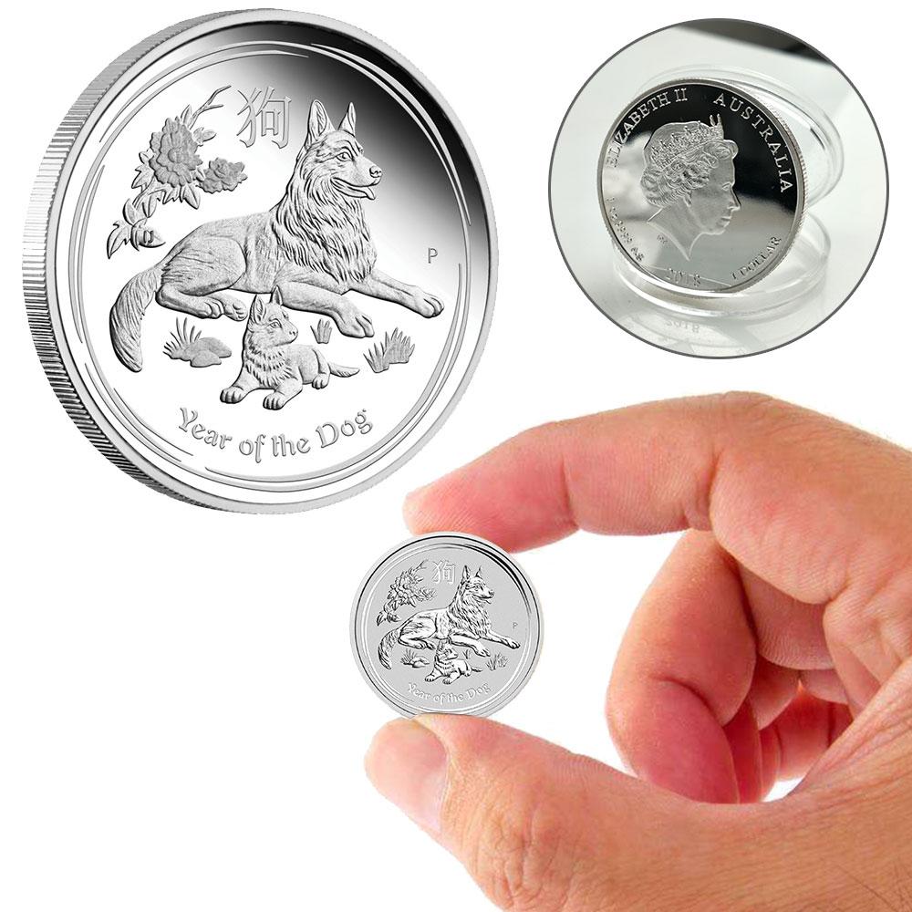 Modern Commemorative Coins Souvenir Coin 2018 Gift Decoration Collectible Crafts Litecoin