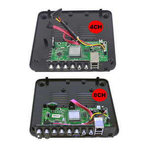 Image 4 - Mini CCTV DVR 4 Kanal 8 Kanal 1080N AHD DVR Digital Video Recorder 5 IN 1 Hybrid DVR 1080P NVR Sicherheit Überwachung P2P