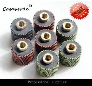 DC-RDPP02 M14 или 5/8-11 нить 2 дюйма (50 мм) алмазная полировальная резина для полировки гранита и мрамора