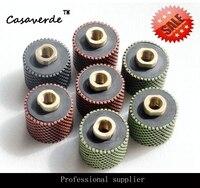 DC RDPP02 M14 Thread 2 Inch 50mm Diamond Resin Drum Polishing Wheels For Polishing Granite And