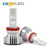 CN360 2PCS H11 Led Car Headlamp 72W Super Bright 12000LM LED Auto Bulb Fog Light Kit