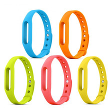 free ship Xiaomi Mi band 1&1S &Xiaomi mi band 1 Wristband Silicon Strap For Smart Bracelet Accessories Replaceable Smart Band цена