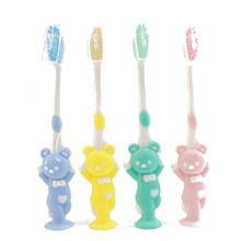 Cartoon Toothbrush Children Bamboo Charcoal Fur Suit Silica Gel Lovely Clean Tooth Brush One s Teeth 4 Only Dress