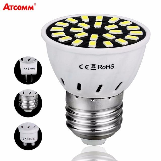 Gu10 led bombilla diode bulbs e27 mr16 110v 220v 4w 6w 8w - Bombilla led gu10 ...