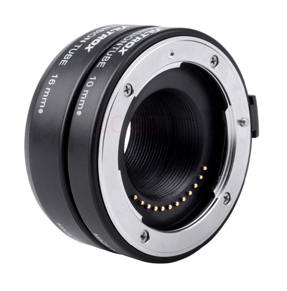 Viltrox DG-1N Auto Focus caméra Macro rallonge Tube 10mm + 16mm adaptateur Set pour Nikon 1 monture objectif J1 J2 J3 V1 - 5