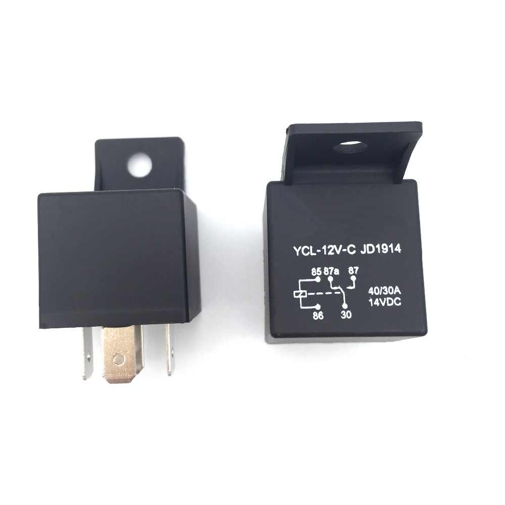 5 Pin 40A Waterproof Car RelayDC 12V Relay for Head Light Air Conditioner