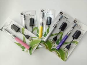 Image 4 - 10 pièces/lot Cigarette électronique Ego CE4 Blister Kit unique avec CE4 Clearomizer 1100mah EGO T batterie vape elektronik sigara
