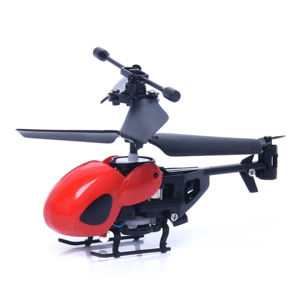 Hiinst helicoptere rc 2017 2CH Mini Rc Helicopter Radio Remote Control Aircraft Micro 2 Channel*D
