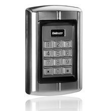 שער דלת גישה לוח מקשים סיסמא קורא 125KHZ מזהה דלת בקרת הגישה WG 26 קורא