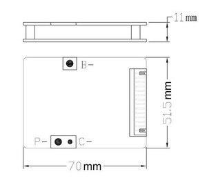 Image 4 - จัดส่งฟรี! 13วินาที48โวลต์20A BMS li ionแบตเตอรี่BMSที่ใช้สำหรับ48โวลต์10Ah 12Ah 15Ahและ20Ahแบตเตอรี่อีจักรยาน48โวลต์1000วัตต์BMS