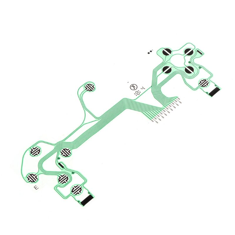 Confiado Controlador De Película Conductora Teclado Flex Cable Pcb Jds-055 Delgado Placa De Circuito Reemplazo Botones Cinta Para Sony Playstation4 Ps4