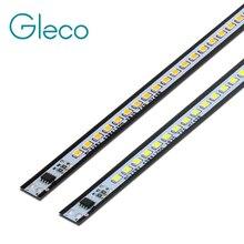 10 pces x 49cm led barra luz tira 2835 smd 72 leds 220 v liga de alumínio pcb alta lúmen para diy projeto de iluminação não precisa de motorista