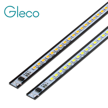 10 قطع x 49 سنتيمتر LED شريط ضوء قطاع 2835 SMD 72 المصابيح 220 فولت الألومنيوم سبائك PCB عالية التجويف للإضاءة diy مشروع لا تحتاج سائق