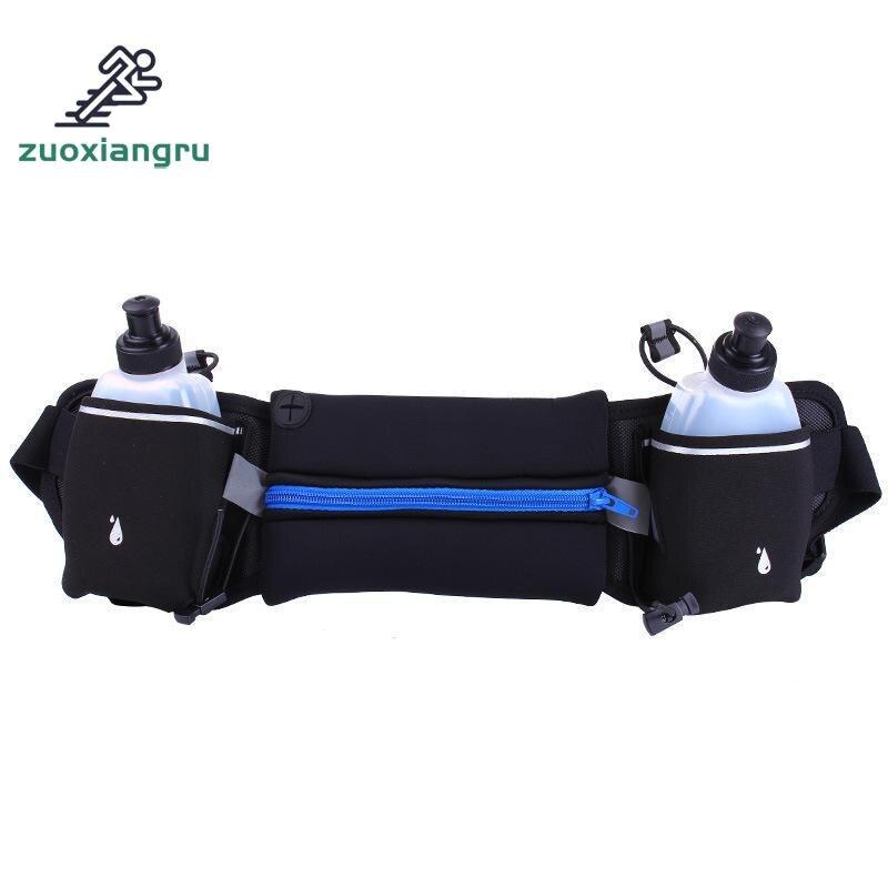 Relojes Y Joyas Zuoxiangru New Running Bag Hydration Belt,women Men Sport Running Waist Bag,waterproof Jogging Gym Waist Pack With Water Bottle