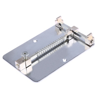 Silver Stainless Steel Cell Phone PCB Repair Holder Platform Maintenance Fixtures Mobile Phone Circuit Boards Repair