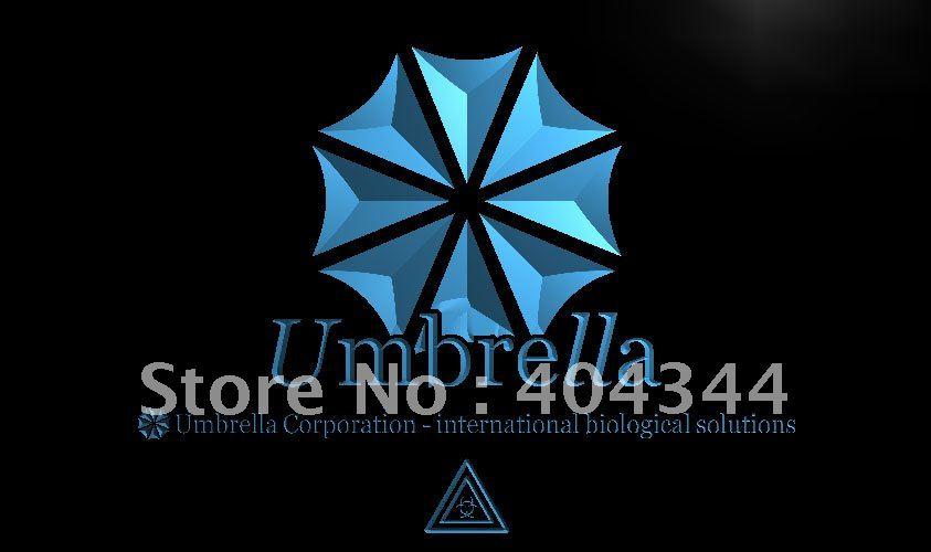 Simbolo Del Marchio Lh037-biohazard Ombrello Resident Evil Led Neon Segno Della Luce Della Decorazione Della Casa Artigianato