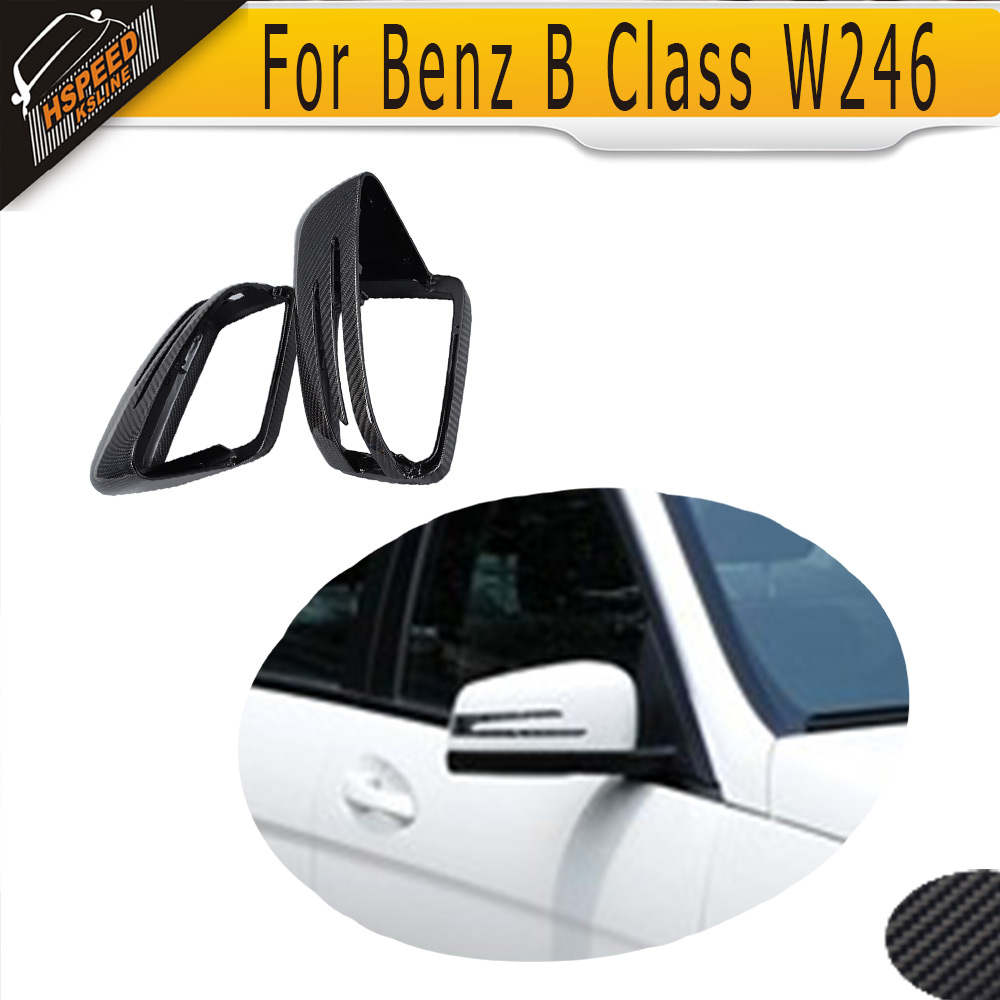Carbon Fiber Car Side Mirror Cover For Mercedes Benz B Class W246 2011 2012 2013 2014 2015 2016 mb barbell mb pltb31 5кг