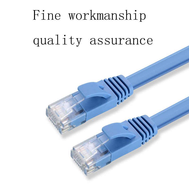 RJ45 Cable de Lan Ethernet Cat6 0,5 m 1 m 2 m 3 m 5 m 7 m 10 m red cable del parche del enrutador Gigabit para el interruptor del módem PC Xbox Internet
