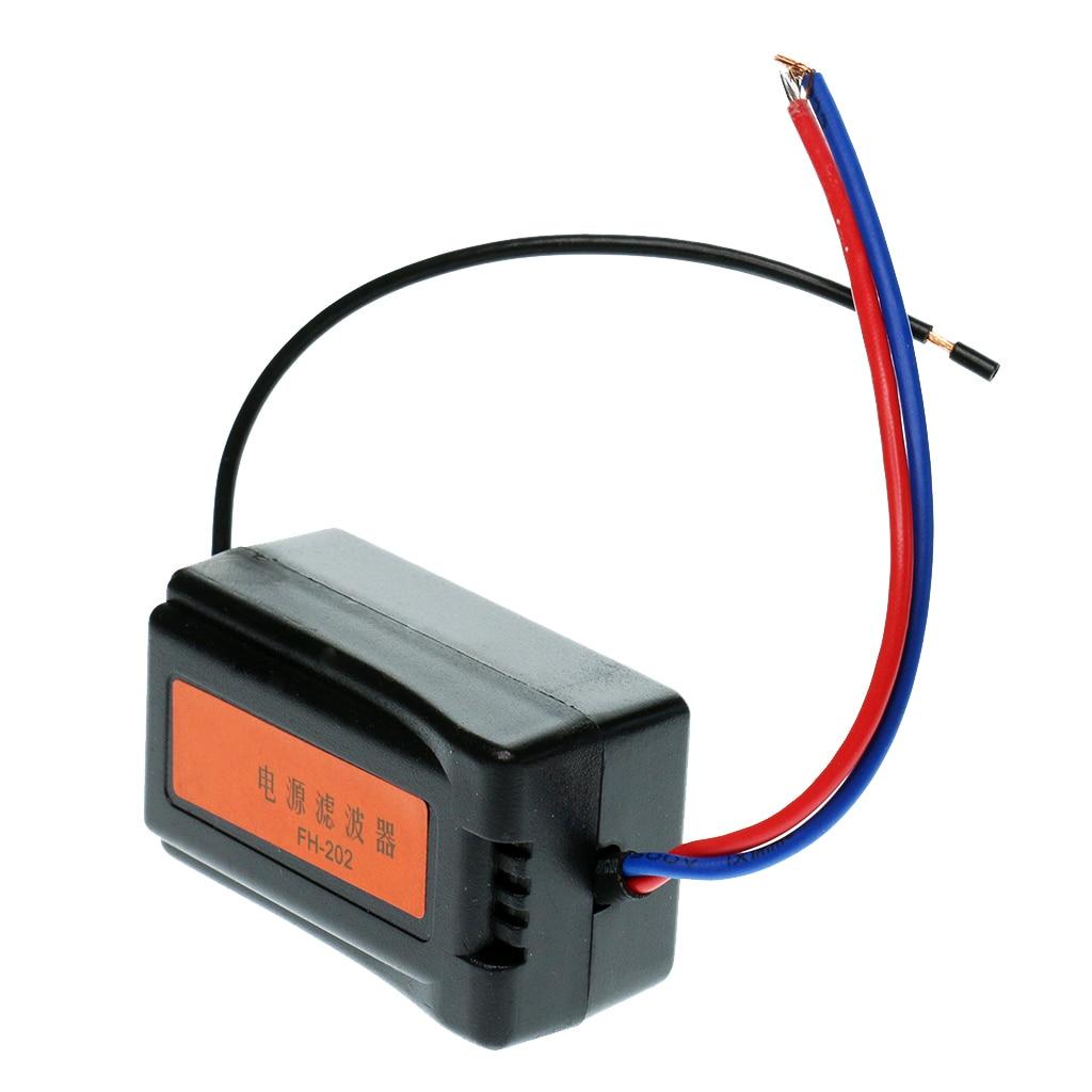 Автомагнитола 12 В, Предварительно Проводная аудиосистема, система шумоподавления, циклонный изолятор для подавления шума