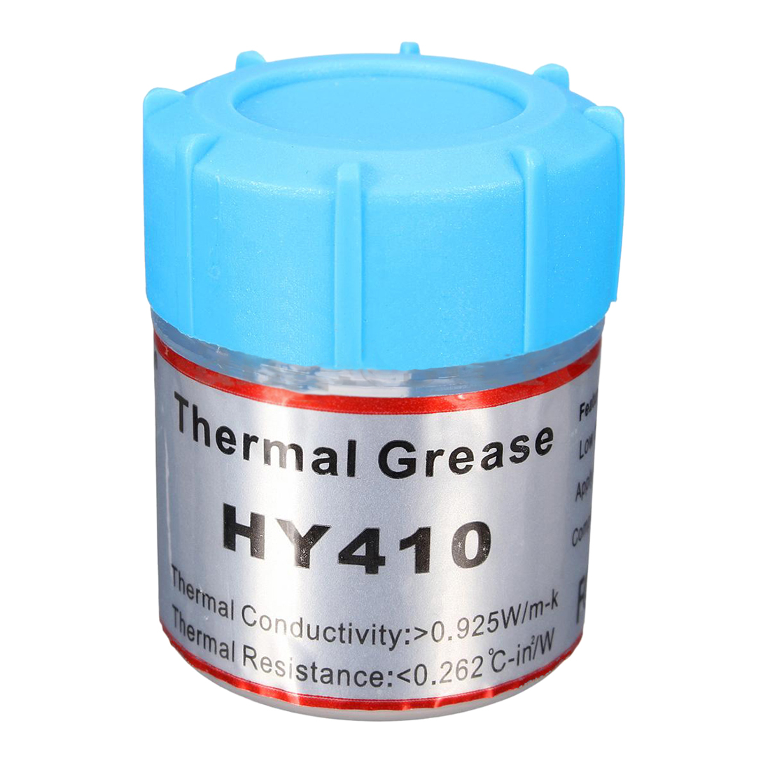 HY410 10g White Thermal Conductive Grease Silicone Paste for CPU GPU Cool injector style thermal conductive silicone grease kit 5ml